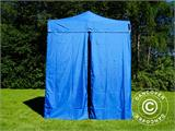 Pop up gazebo FleXtents Basic v.2, 2x2 m Blue, incl. 4 sidewalls - 4
