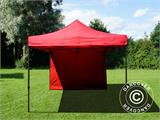 Pop up gazebo FleXtents Basic v.2, 3x3 m Red, incl. 4 sidewalls - 10