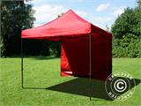 Pop up gazebo FleXtents Basic v.2, 3x3 m Red, incl. 4 sidewalls - 12
