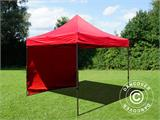 Pop up gazebo FleXtents Basic v.2, 3x3 m Red, incl. 4 sidewalls - 13