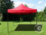 Pop up gazebo FleXtents Basic v.2, 3x3 m Red, incl. 4 sidewalls - 15