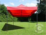 Pop up gazebo FleXtents Basic v.2, 3x3 m Red, incl. 4 sidewalls - 17
