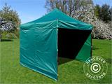 Pop up gazebo FleXtents Basic v.2, 3x3 m Green, incl. 4 sidewalls - 1
