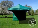 Pop up gazebo FleXtents Basic v.2, 3x3 m Green, incl. 4 sidewalls - 10