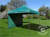 Pop up gazebo FleXtents Basic v.2, 3x3 m Green, incl. 4 sidewalls - 11