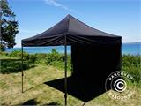 Pop up gazebo FleXtents Basic v.2, 3x3 m Black, incl. 4 sidewalls - 10