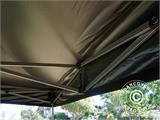 Pop up gazebo FleXtents Basic v.2, 3x3 m Black, incl. 4 sidewalls - 17