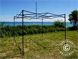 Pop up gazebo FleXtents Basic v.2, 3x3 m Black, incl. 4 sidewalls - 22