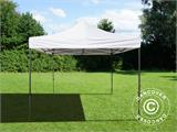 Faltzelt FleXtents Basic v.2, 3x3m Weiß - 1