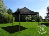 Foldetelt FleXtents Basic v.2, 3x3m Sort - 2