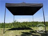 Foldetelt FleXtents Basic v.2, 3x3m Sort - 3