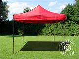 Tente pliante FleXtents Basic v.2, 3x3m Rouge - 1