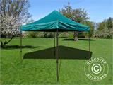 Pop up gazebo FleXtents Basic v.2, 3x3 m Green - 1