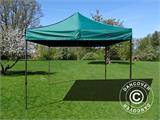 Pop up gazebo FleXtents Basic v.2, 3x3 m Green - 2