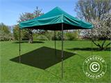 Pop up gazebo FleXtents Basic v.2, 3x3 m Green - 3
