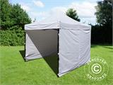 Vouwtent/Easy up tent FleXtents Basic v.3, 3x3m Wit, inkl. 4 Zijwanden - 6