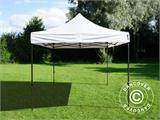 Vouwtent/Easy up tent FleXtents Basic v.3, 3x3m Wit, inkl. 4 Zijwanden - 9