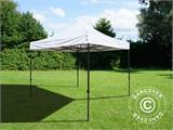 Vouwtent/Easy up tent FleXtents Basic v.3, 3x3m Wit, inkl. 4 Zijwanden - 10