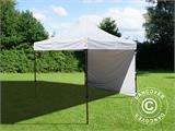 Vouwtent/Easy up tent FleXtents Basic v.2, 4x4m Wit, inkl. 4 Zijwanden - 8