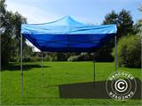 Pop up gazebo FleXtents Basic v.2, 4x4 m Blue, incl. 4 sidewalls - 7