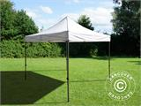 Pop up gazebo FleXtents Basic v.3, 4x4 m White - 2