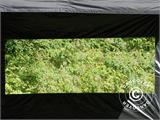 Tenda Dobrável FleXtents Basic v.3, 4x4m Preto, incl. 4 paredes laterais - 3