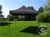 Tenda Dobrável FleXtents Basic v.3, 4x4m Preto, incl. 4 paredes laterais - 8
