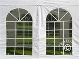Carpa plegable FleXtents Steel 6x6m Blanco, inclusiva 8 Paredes laterales - 6