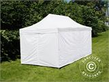 Pop up gazebo FleXtents® Steel, Medical & Emergency tent, 3x6 m, White, incl. 6 sidewalls - 2