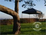 Pop up gazebo FleXtents Light 2.5x2.5 m Black, incl. 4 sidewalls - 6