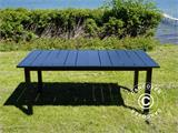 Extendable garden table Key West, 180/240x95x76cm, Black - 3