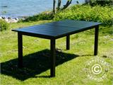 Extendable garden table Key West, 180/240x95x76cm, Black - 12