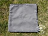 Cushion covers for Garden Chair Miami, 8 pcs, Grey - 5