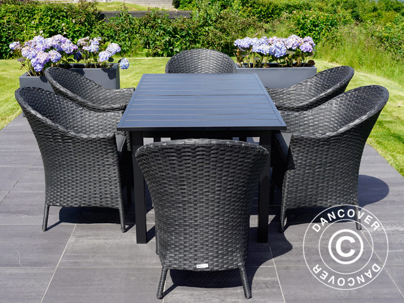 Set mobili da giardino tavolo da giardino sedie da giardino
