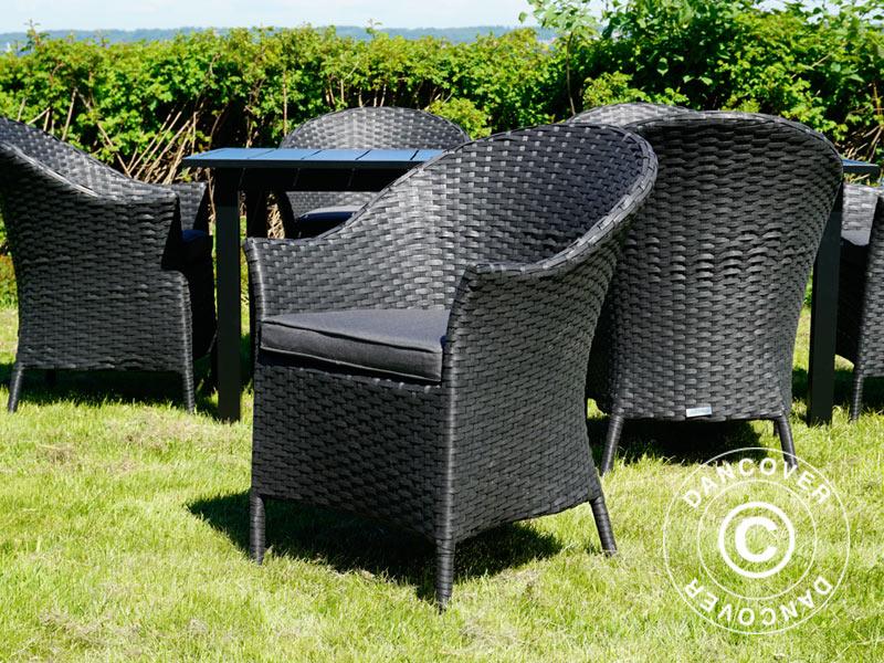 Set mobili da giardino tavolo da giardino 6 sedie da for Set mobili da giardino