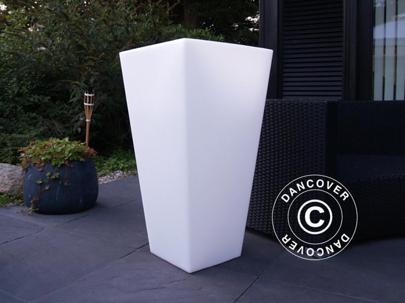 Utestående LED Blomsterpotte, Stor, 89cm(H) - Dancovershop NO GD-89