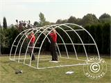 Polytunnel Greenhouse 3x10x1,9 m, Transparent - 9