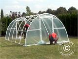 Polytunnel Greenhouse 3x10x1,9 m, Transparent - 11