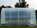 Polytunnel Greenhouse 2,2x4x1,9 m, Transparent - 1