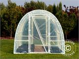 Polytunnel Greenhouse 2,2x4x1,9 m, Transparent - 2