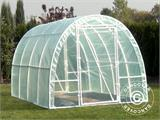 Polytunnel Greenhouse 2,2x4x1,9 m, Transparent - 4