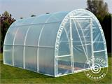 Serre Tunnel 2,2x4x1,9m, Transparent - 5