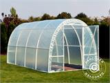 Polytunnel Greenhouse 2,2x4x1,9 m, Transparent - 6