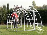 Polytunnel Greenhouse 2,2x4x1,9 m, Transparent - 12