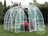 Polytunnel Greenhouse 2,2x4x1,9 m, Transparent - 13