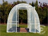 Serre Tunnel 140, 2,2x6x1,9m, 13,2m², Transparent - 3