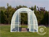 Serre Tunnel 140, 2,2x3x1,9m, 6,6m², Transparent - 4