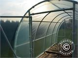 Serre Tunnel 140, 2,2x3x1,9m, 6,6m², Transparent - 6