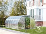 Greenhouse Polycarbonate, Strong 12 m², 3x4 m, Silver - 1