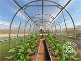 Greenhouse Polycarbonate, Duo 8 m², 2x4 m, Silver - 4
